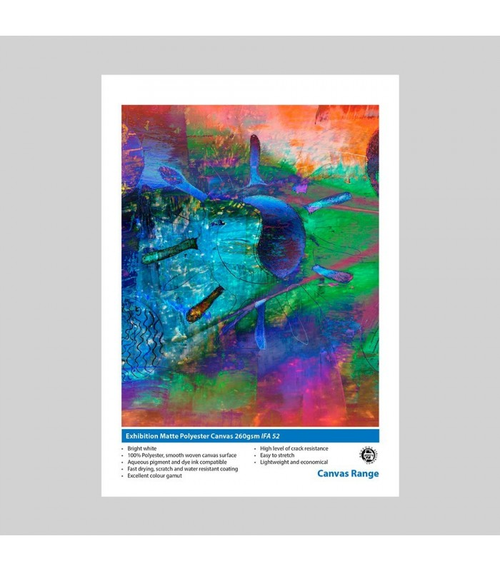 Innova Exhibition Matte Polyester Canvas 260gr