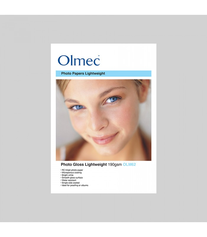 Olmec Photo Glossy 190gr OLM62 - caja