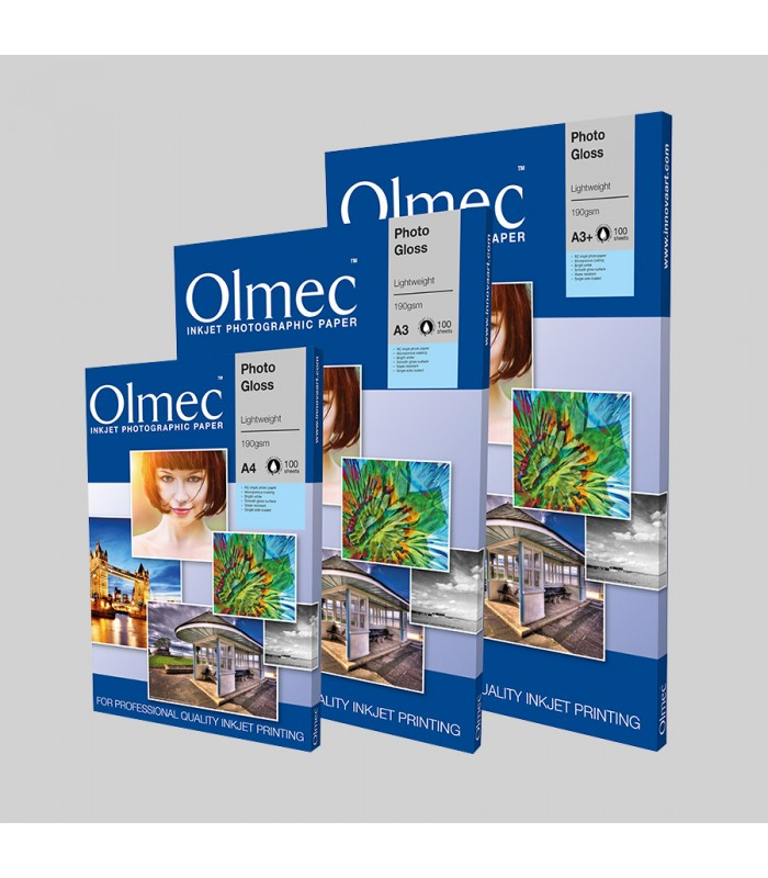 Olmec Photo Glossy 190gr - caja