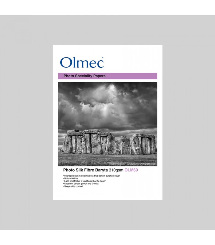 Olmec Photo Silk Fibre Baryta 310gr - caixa