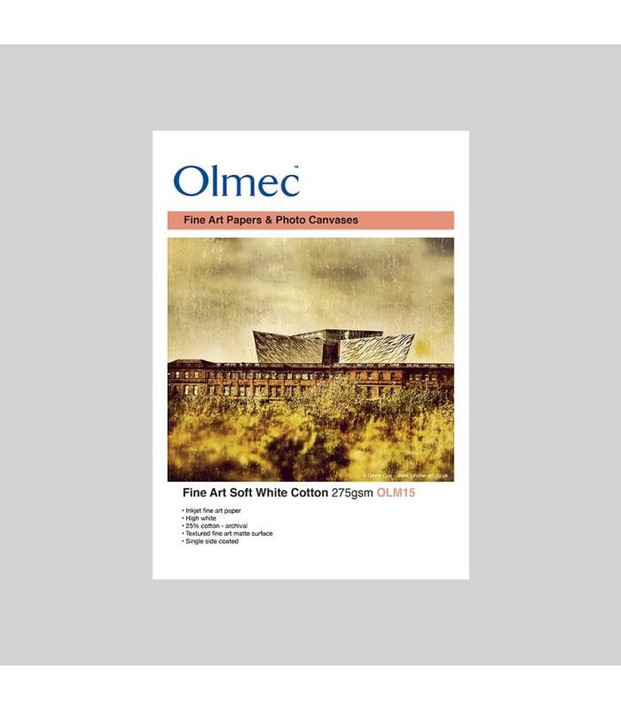 Olmec Soft White Cotton Matt 270gr OLM15 - muestra