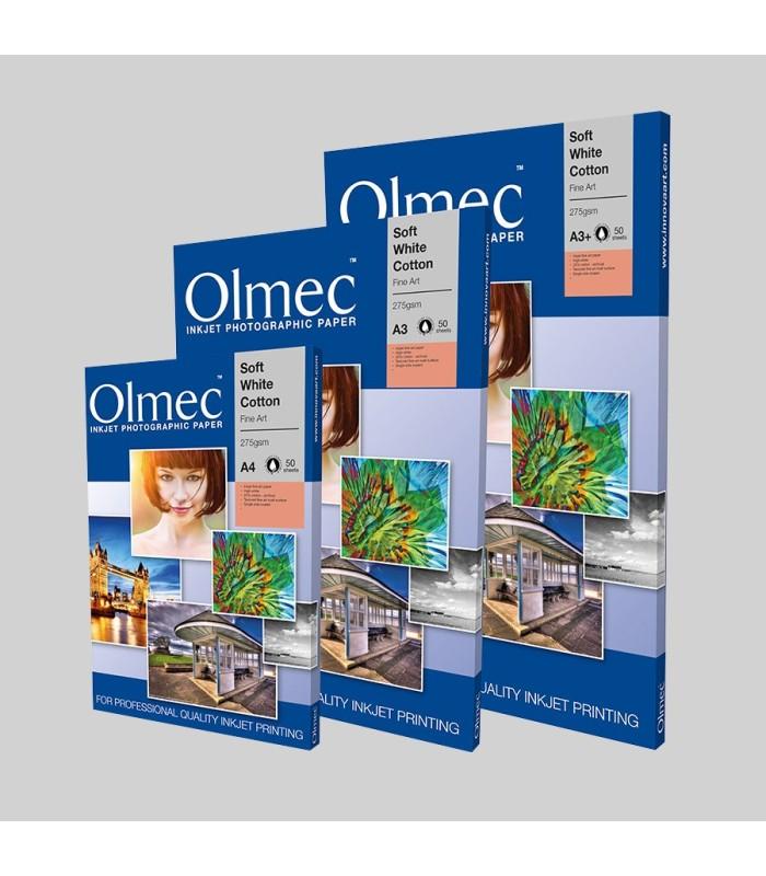 Olmec Soft White Cotton Matt 270gr - caixa