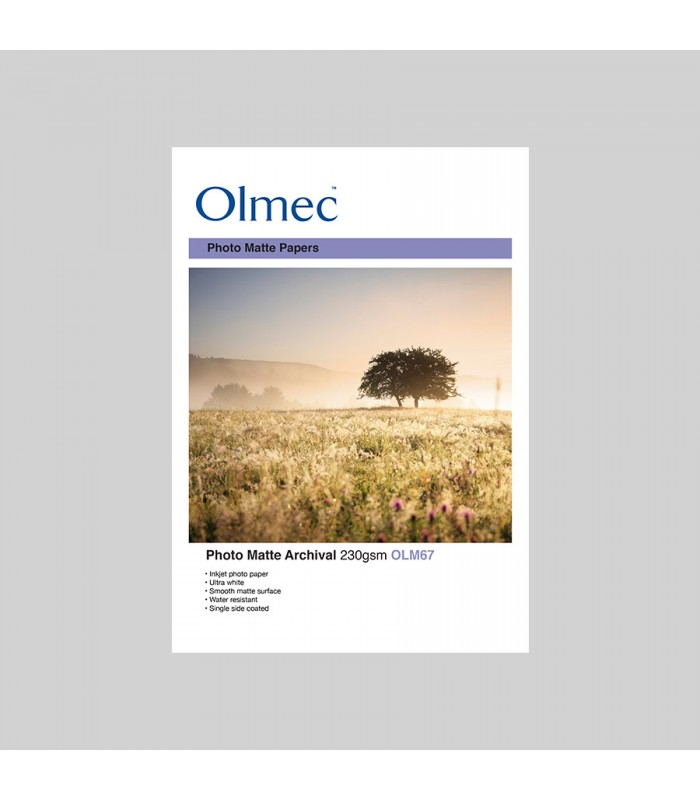 Olmec Photo Matte Achival 230gr OLM67 - caixa
