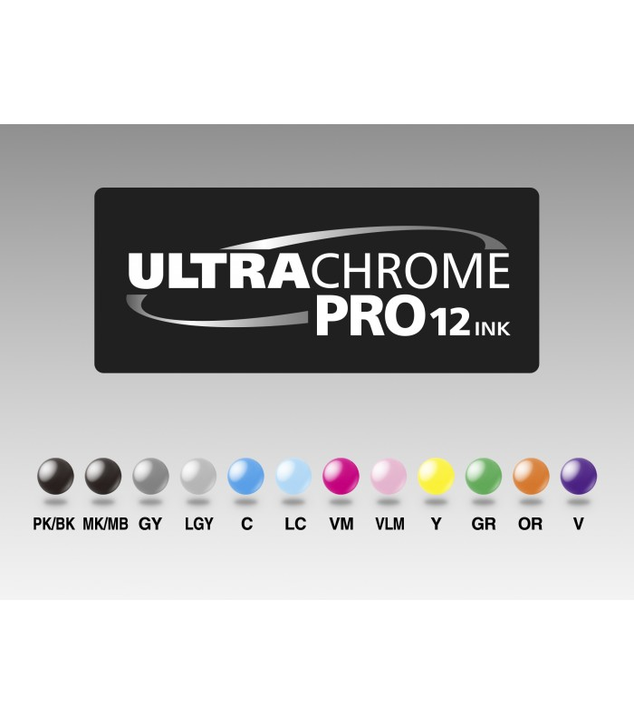 Joc de tintes UltraChrome PRO 12